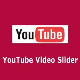 Youtube Video Slider