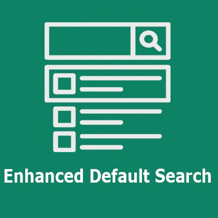 Enhanced Default Search